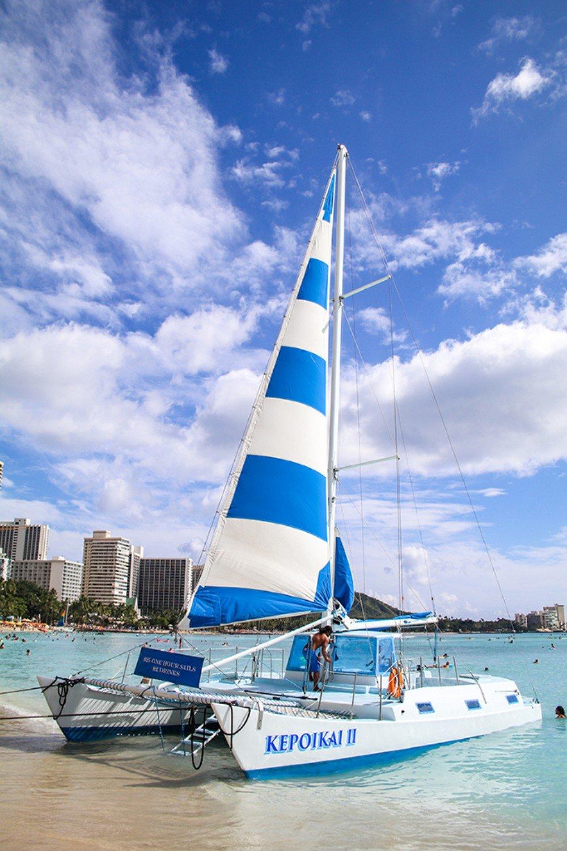 Kepoikai Ii Waikiki S Premier Catamaran